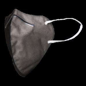 COVIsafe Schutzmaske - 3D schwarz meliert